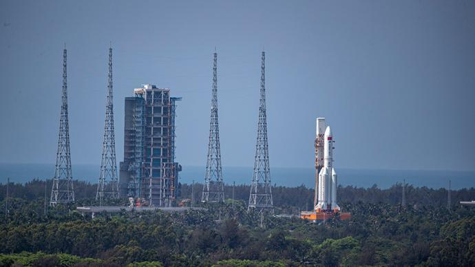 一周圖片|出征在即!中國空間站天和核心艙已就位發射區