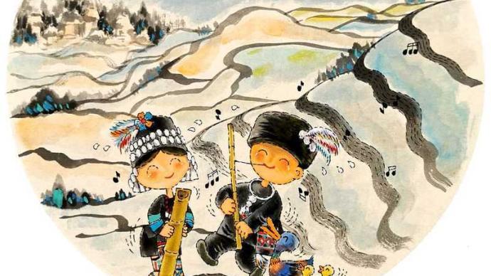 """漫画""""快闪""""云南红河,上海漫画家勾勒老寨和古村"""