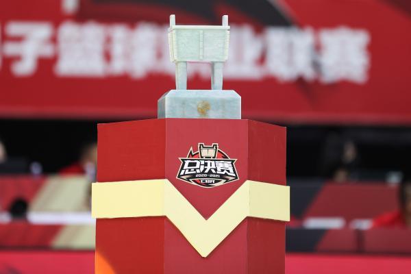 广东队距离总冠军奖杯一步之遥。