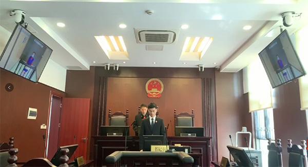庭审现场 本文图均为上海宝山法院 供图