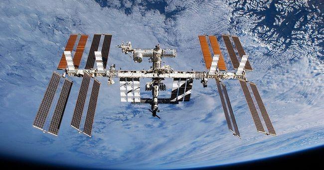 国际空间站。