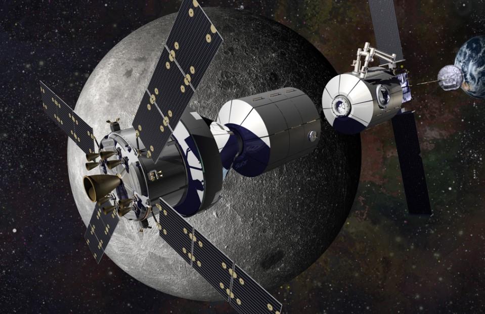 目前,各國發射的空間站均在地球低軌道運行,隨著人類走向深空步伐速度的加快,載人空間站也開始走向深空。