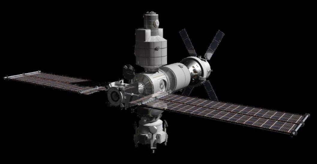 """""""門戶""""月球空間站有多個國家和組織參與。"""