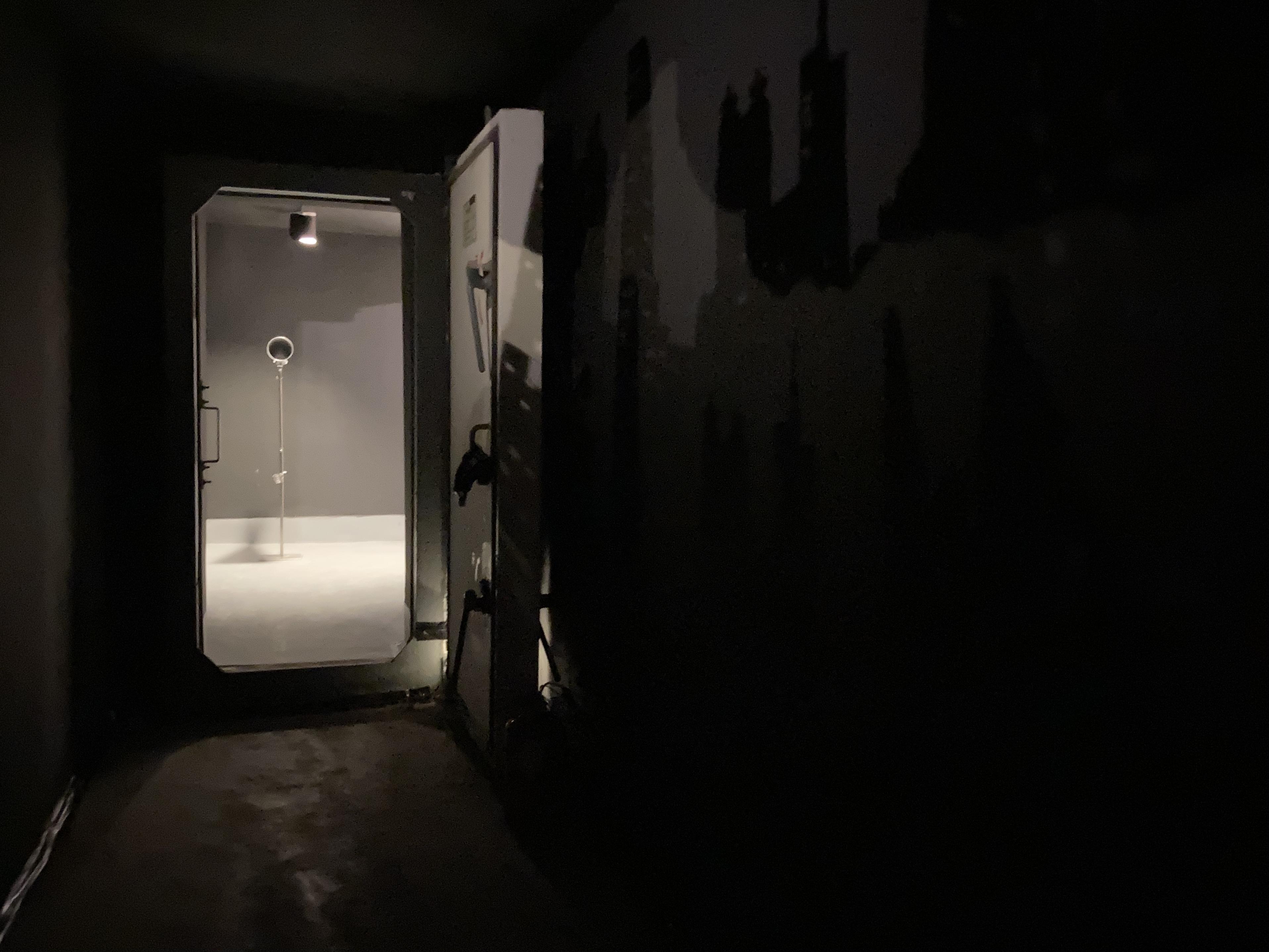 《回声:来自自然与城市的问候》序曲展副场地,闲下来合作社B区深洞。沈健文摄