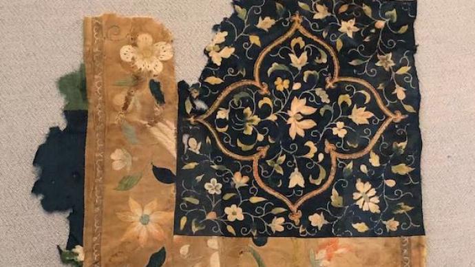 敦煌絲綢研究還有多大空間,莫高窟展歷代經幡、刺繡等