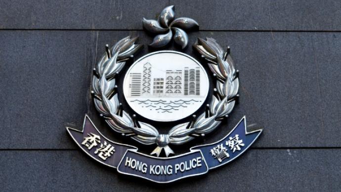 香港警方拘捕2人,其中一男子涉煽動分裂國家罪