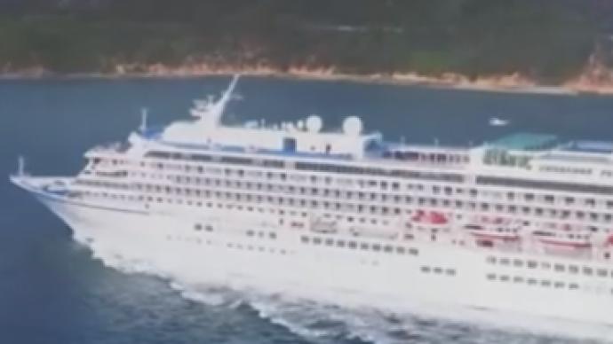 日本一豪華郵輪上出現新冠感染者,將緊急靠岸并安排乘客下船