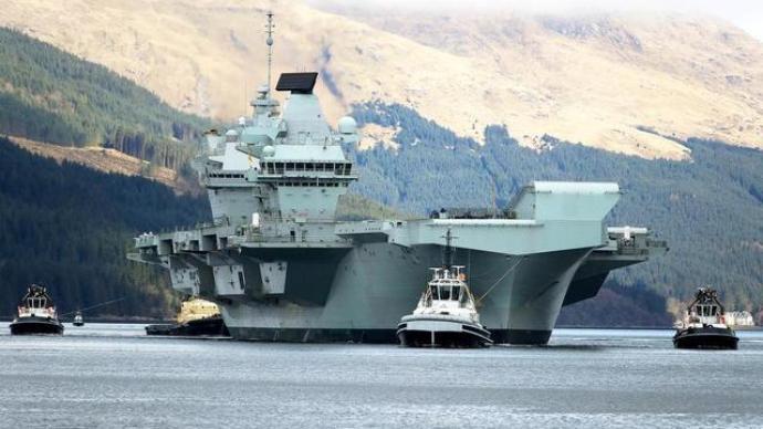 """英國""""伊麗莎白女王""""號航母首次海外部署:5月前往亞太地區"""