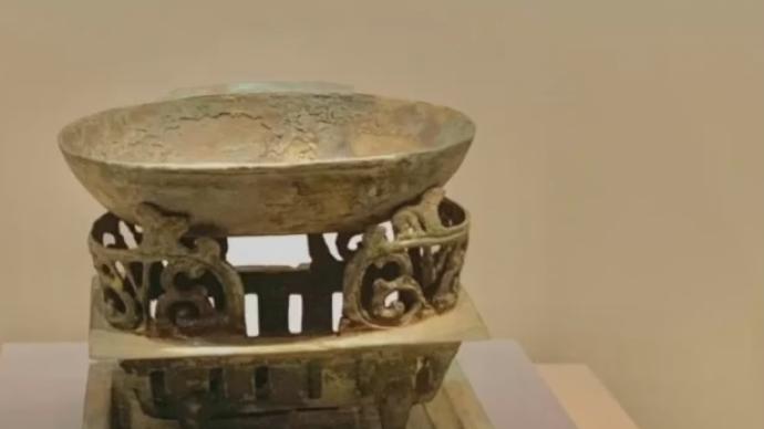 視頻|?;韬钔?,陜西發現漢代銅染爐小火鍋