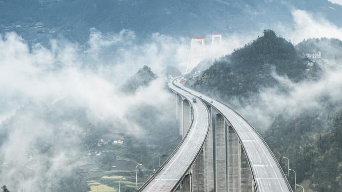 沿著高速看中國|G50滬渝高速:貫穿長江經濟帶的小康線