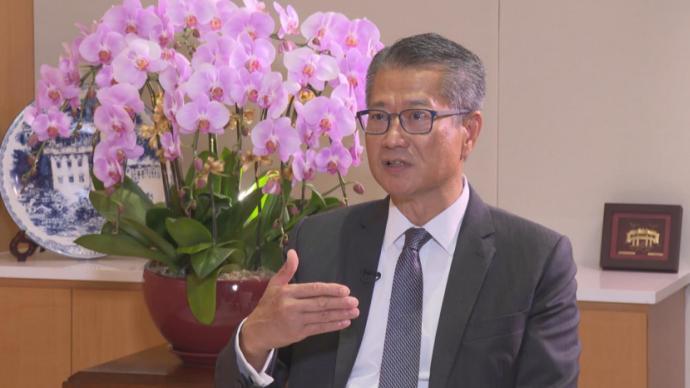 香港財政司司長談撥款條例草案通過:逆周期措施穩民生經濟