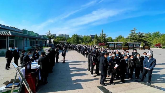 闵桂荣院士遗体告别仪式在京举行