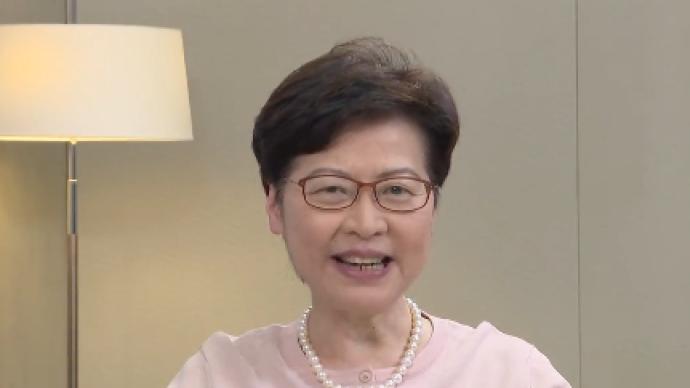 香港立法會已重回正軌,林鄭月娥專訪香港立法會議員李慧瓊