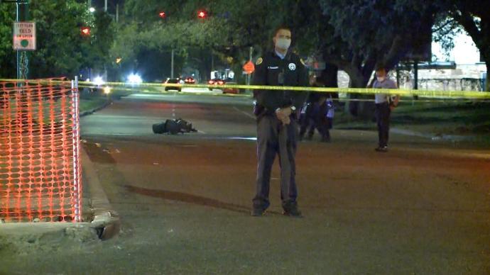 美国新奥尔良市一夜发生两起枪击事件,致2死6伤