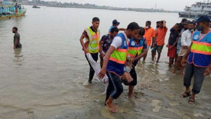 孟加拉国两船相撞:已致至少25人死亡,5人获救