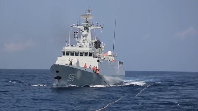視頻丨南部戰區海軍航空兵在南海組織大規模對抗編組訓練