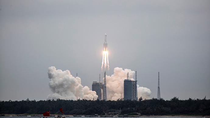 中國空間站天和核心艙發射任務成功,習近平致電祝賀