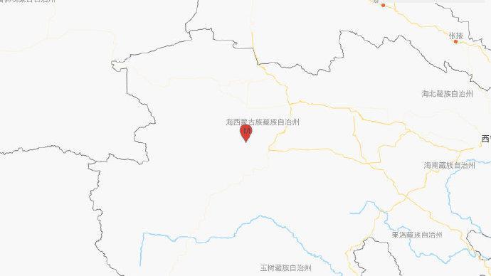 青海海西州格爾木市發生4.0級地震,震源深度10千米