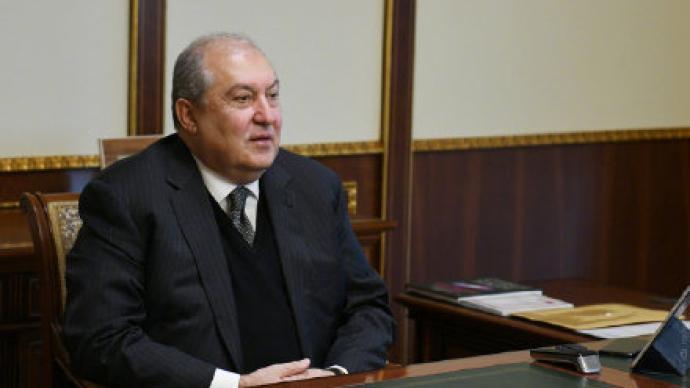 ?亞美尼亞總統薩爾基相隱瞞雙重國籍,檢方對其提起刑事訴訟