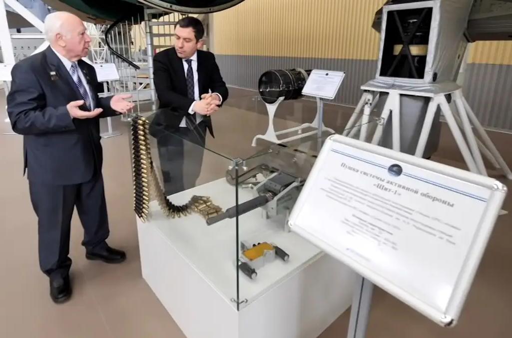 """苏联""""钻石""""空间站安装的23毫米机关炮。"""