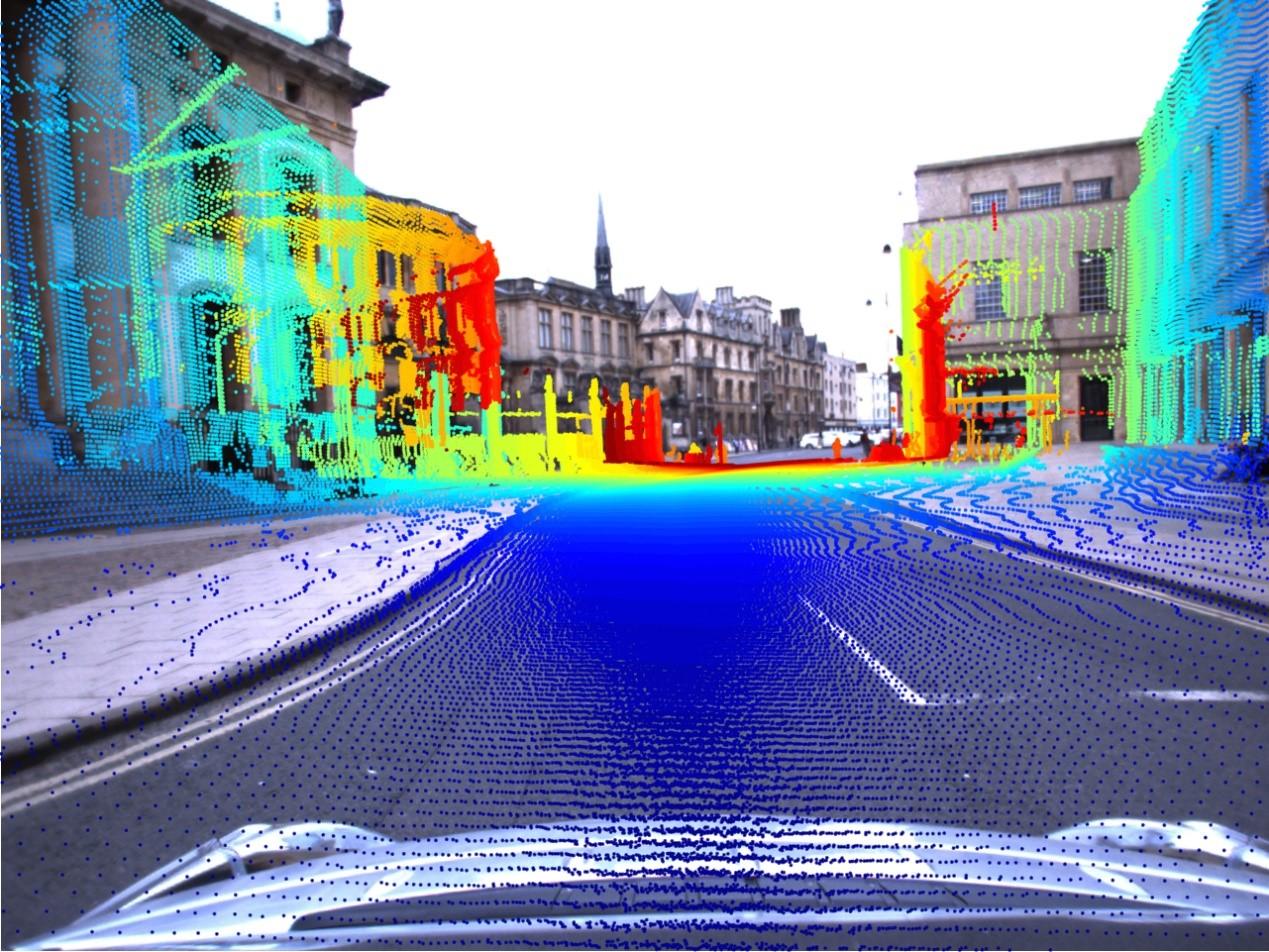 无人驾驶电脑里的真实世界,激光雷达和摄像头应该是相辅相成的。