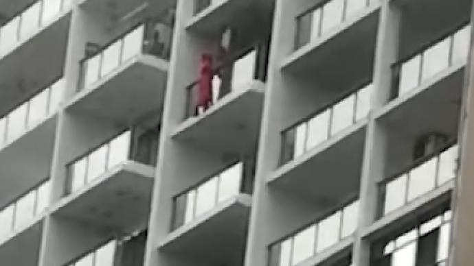 三亚警方通报女子高楼阳台外跳舞时坠楼:房内留有一封遗书