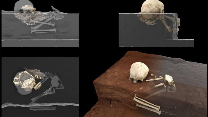 非洲现代人类有意识墓葬最早推至7.8万年前:埋葬者为幼儿