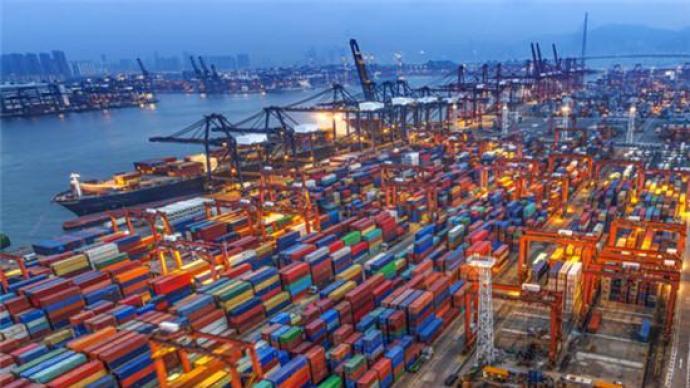 海关总署:前4个月外贸进出口总值11.62万亿元