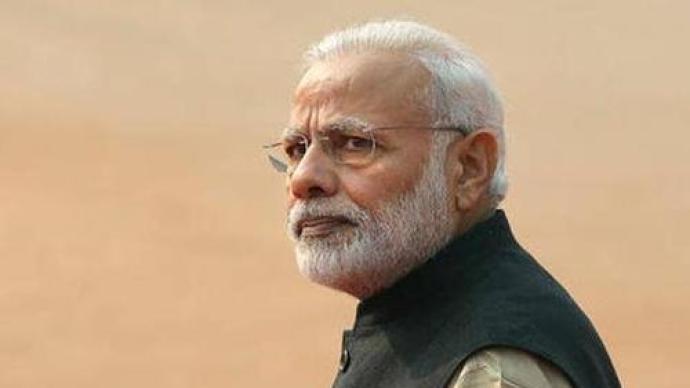 """疫情蔓延却仍推进18亿美元工程,印度总理莫迪""""惹怒""""公众"""