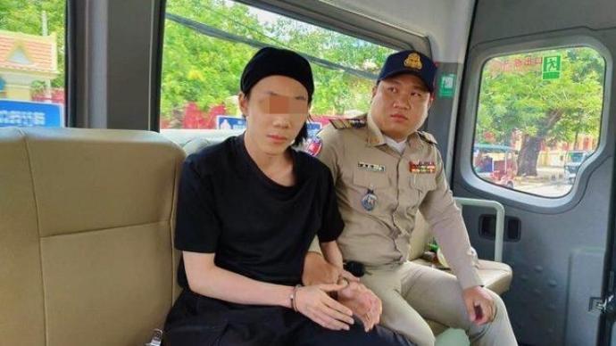 """广西""""22岁大学生杀父母""""案嫌犯被审查逮捕,曾逃至柬埔寨"""