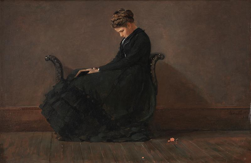 Winslow Homer, Portrait of Helena de Kay, ca. 1872