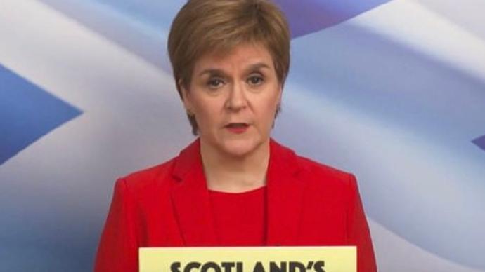 苏格兰首席大臣斯特金再次强调将举行第二次独立公投