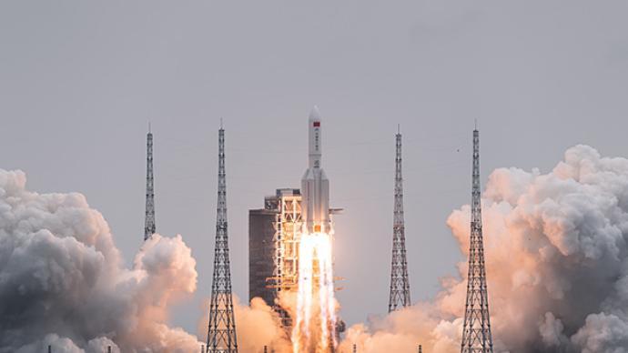 多国专家认为长征五号B运载火箭残骸坠落安全风险很低