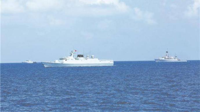 中国印尼海军联演,这个细节感人