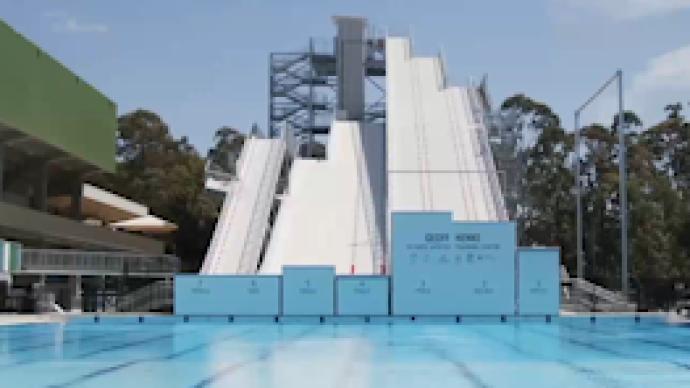 穿雪板跳水,澳大利亚运动员这样备战北京冬奥会