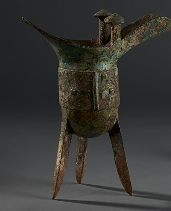 爵(商)华东师范大学中国历史文物博物馆藏