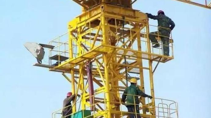 山东潍坊发生塔机顶升套架滑落事故,致3死2伤