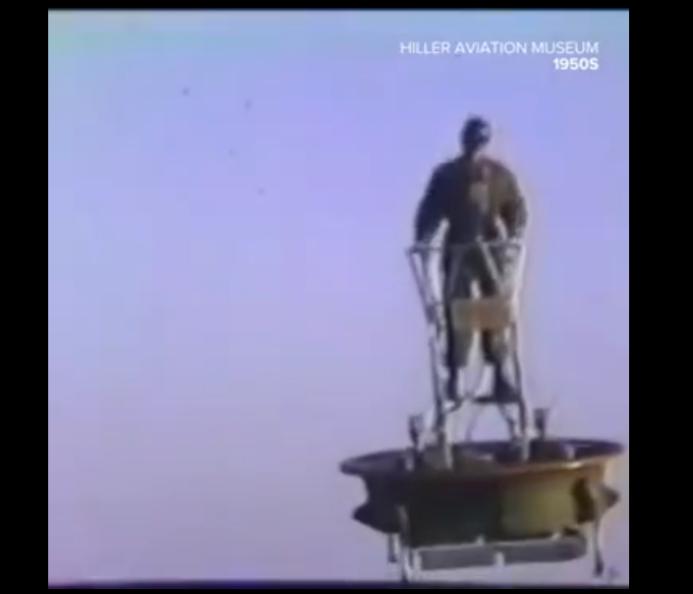 冷战时期,美国对单兵飞行器进行了大量的探索。