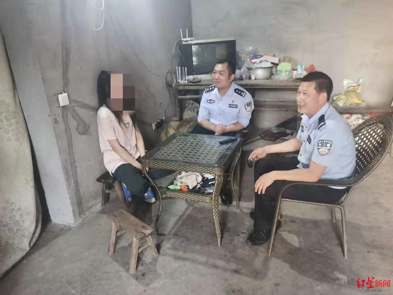 警方找到小娜