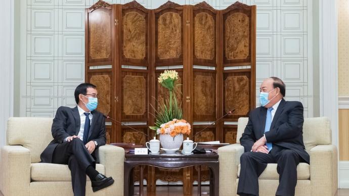 澳门特首与吉林省政协副主席会面,共促中医药及旅游合作