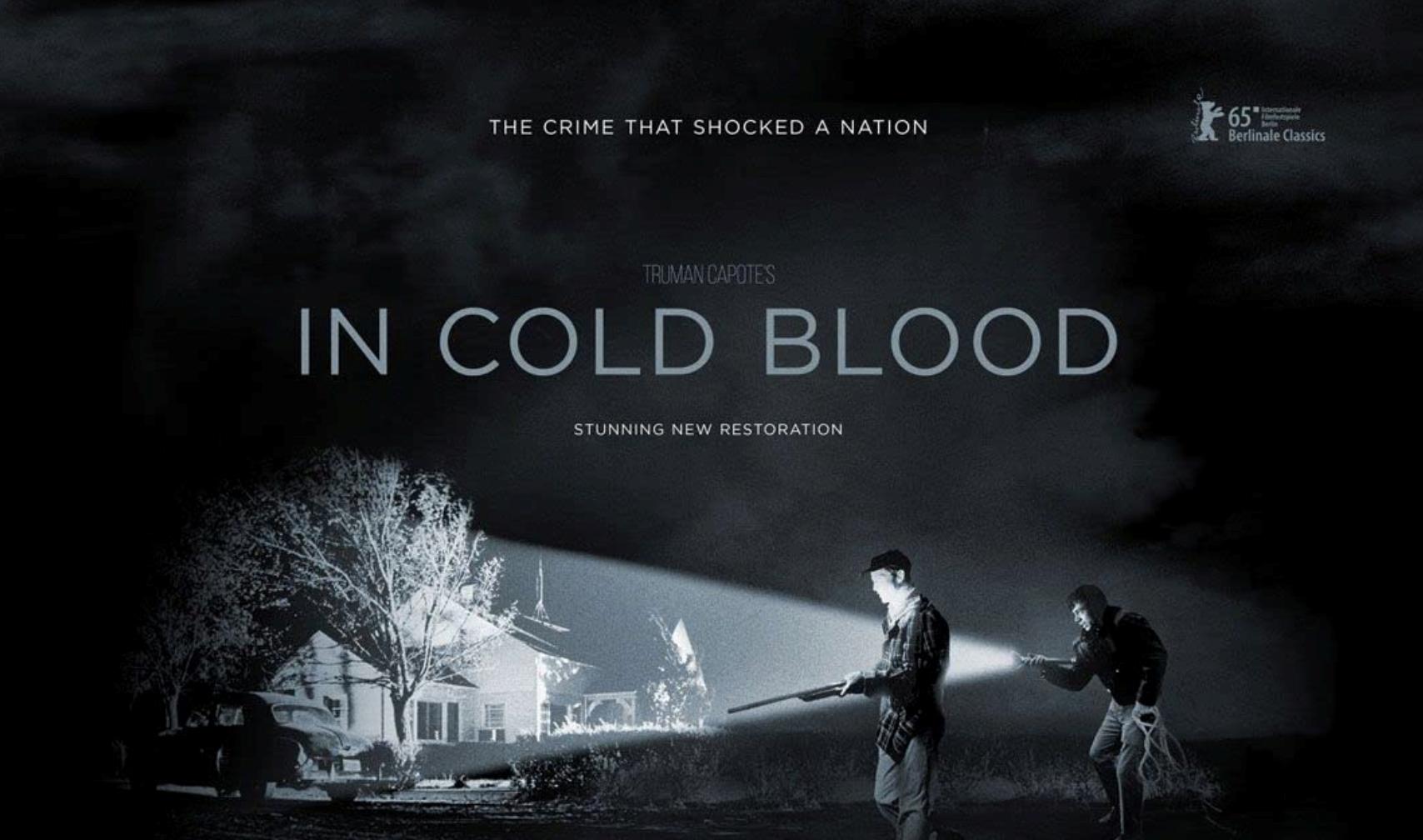 1966年上映的电影《冷血》海报