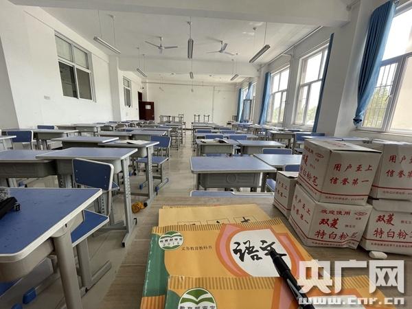 吴桥职教中心杂技文化课教室(总台央广记者管昕 摄)