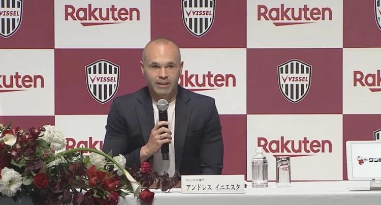 星启娱乐新闻:伊涅斯塔37岁生日快乐!打破退役传闻,他还要在日本踢两年