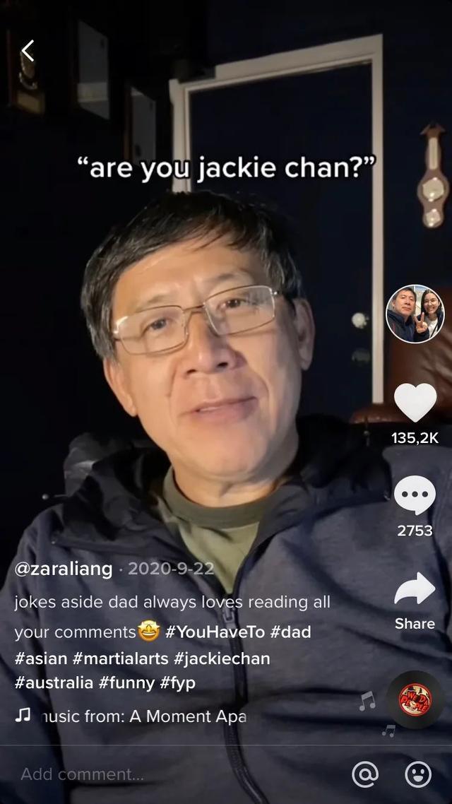"""梁传兴被外国网友错认为""""成龙"""""""