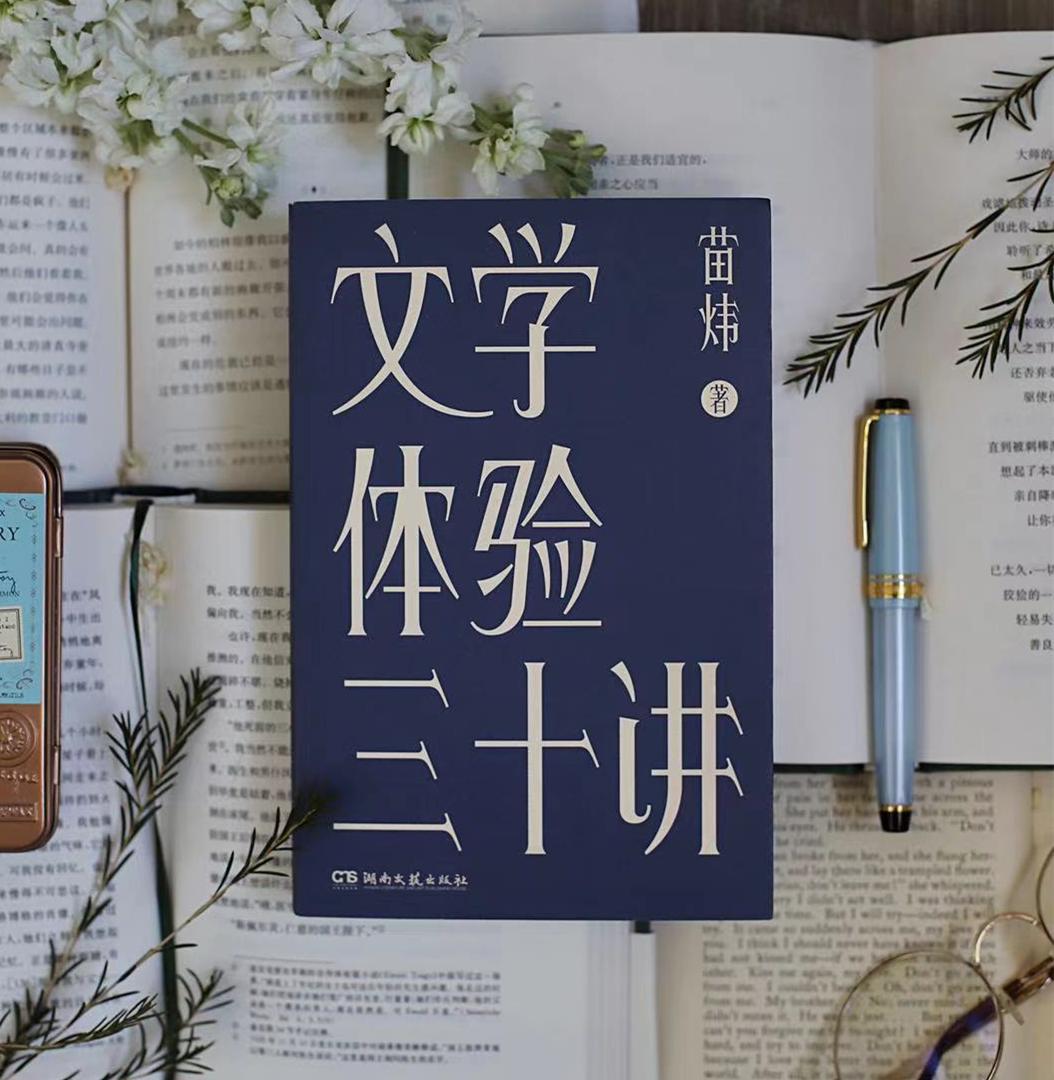 今年初,《文学体验三十讲》由浦睿文化与湖南文艺出版社出版。