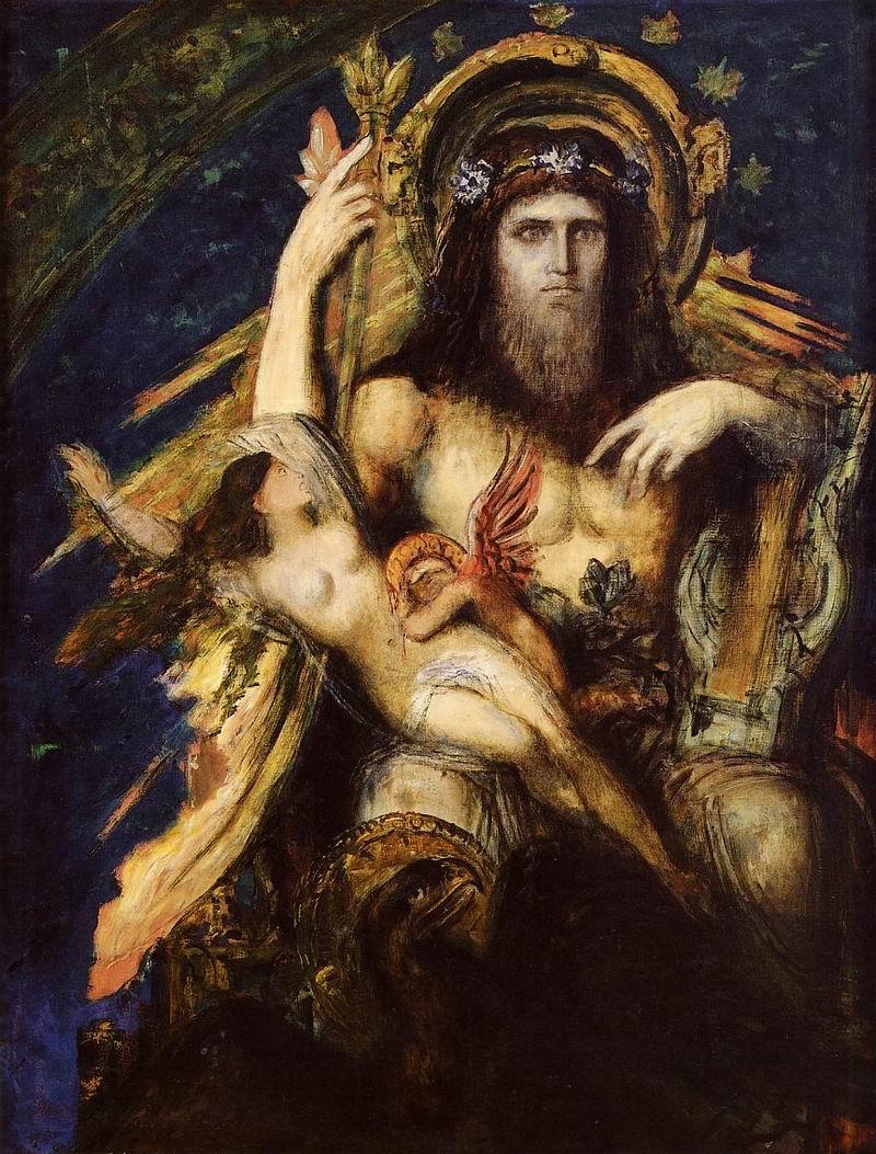 朱庇特与塞墨勒,1895