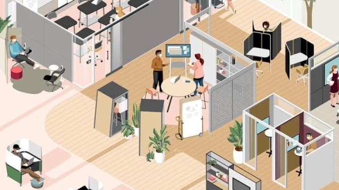 全球城市观察|疫情给办公空间带来了哪些变化