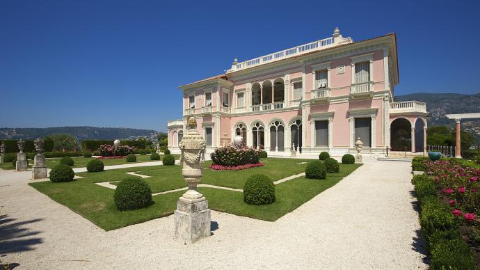 国际博物馆日③|玫瑰色博物馆:海边的罗斯柴尔德花园别墅