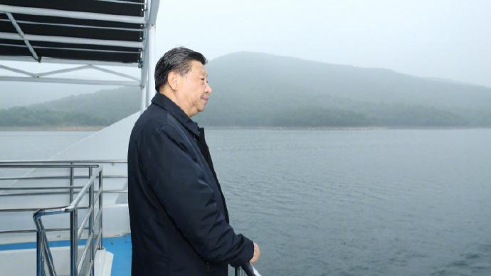 视频丨习近平在南阳市淅川县考察南水北调工程