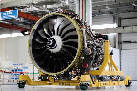 自主研发的商用航空发动机